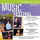 2007 Mammoth Lakes Music Festival 3